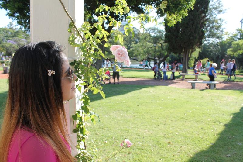 El Rosedal, uno de los jardines más hermosos de Buenos Aires.