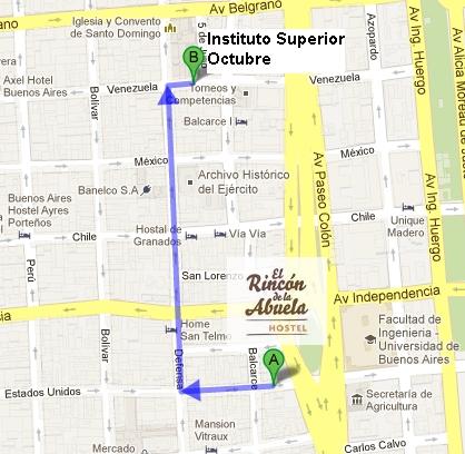 mapa-venezuela-dirección-estudiar-hostel