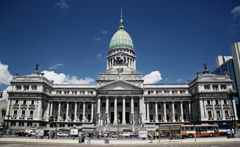 El Congreso Nacional es el lugar político más importante e imponente.