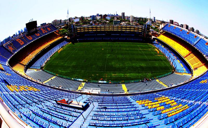 La Bombonera épico estadio en el barrio de La Boca