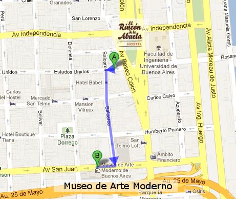 Como llegar al Museo de Arte Moderno