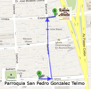 Parroquia San Pedro Gonzalez Telmo